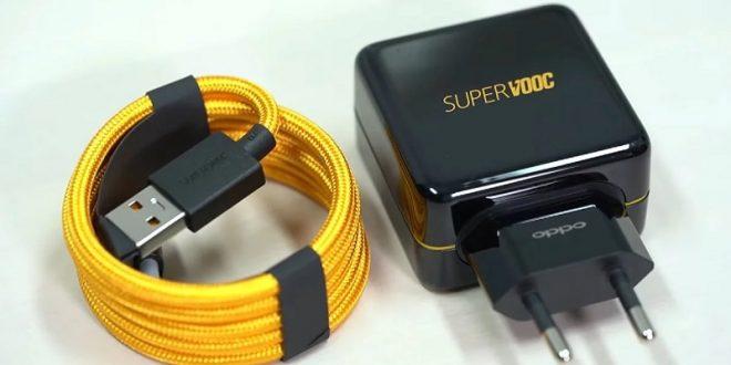 Pengisian Cepat Oppo's Super VOOC