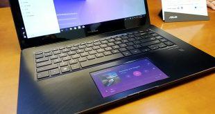 Asus ZenBook Pro 15 UX580 Sajikan 2 Layar Pertama di Dunia