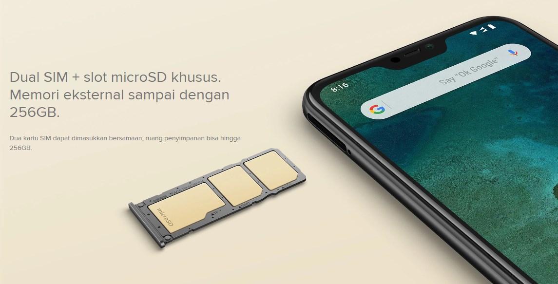 HP Xiaomi Mi A2 Lite ram