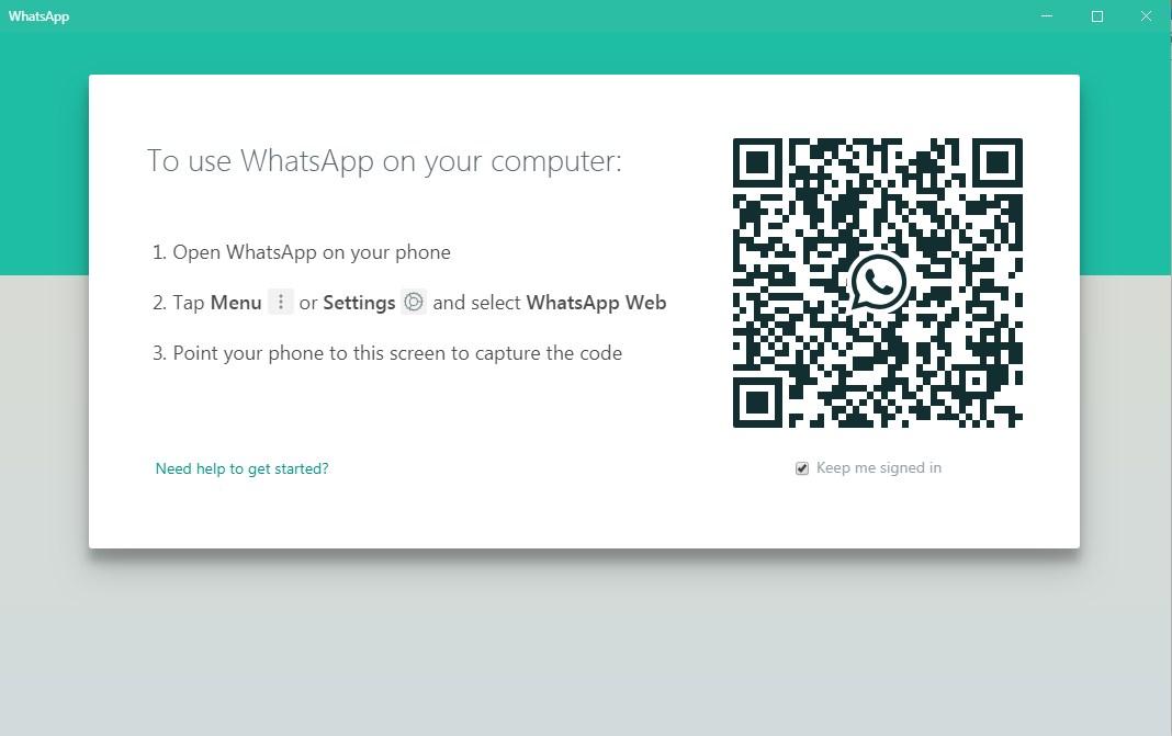 Whatsapp Dekstop for windows