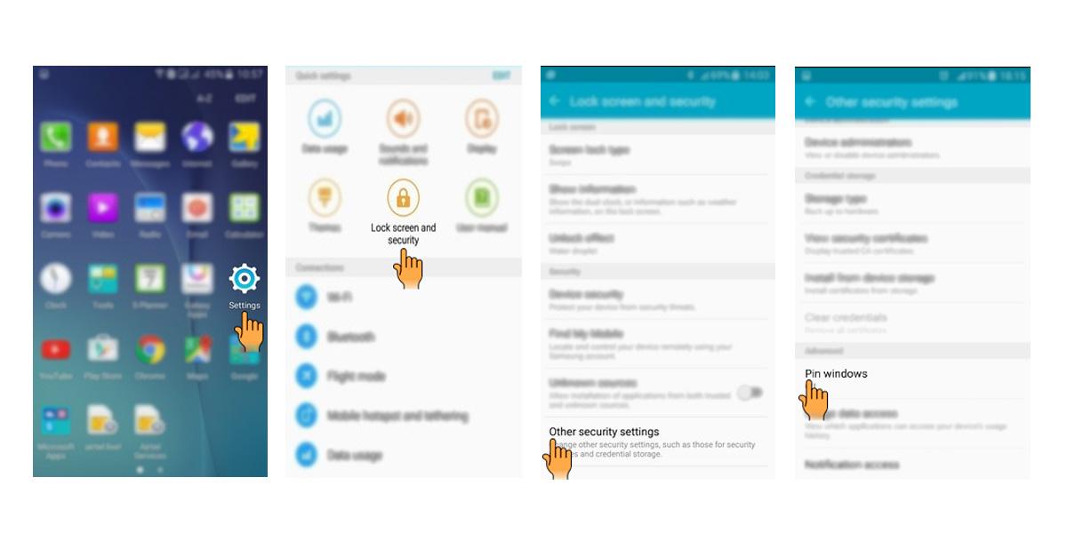 Cara Mengunci Aplikasi Di Hp Samsung Tekno Banget