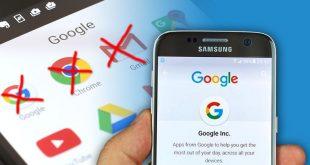 cara hapus akun google di android