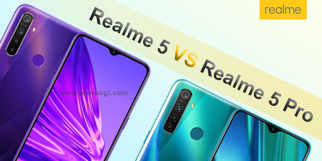perbedaan realme 5 dan realme 5 pro