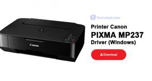 Driver printer canon mp237