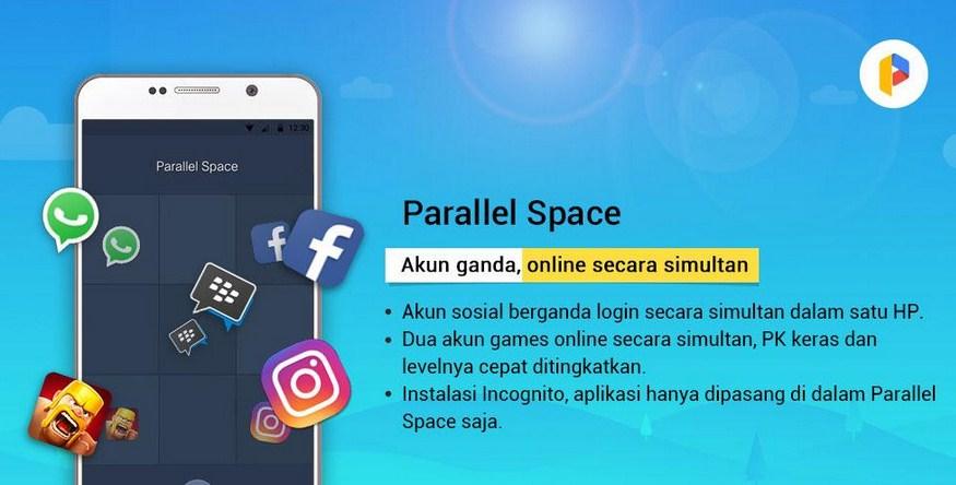 Parallel Space akun ganda