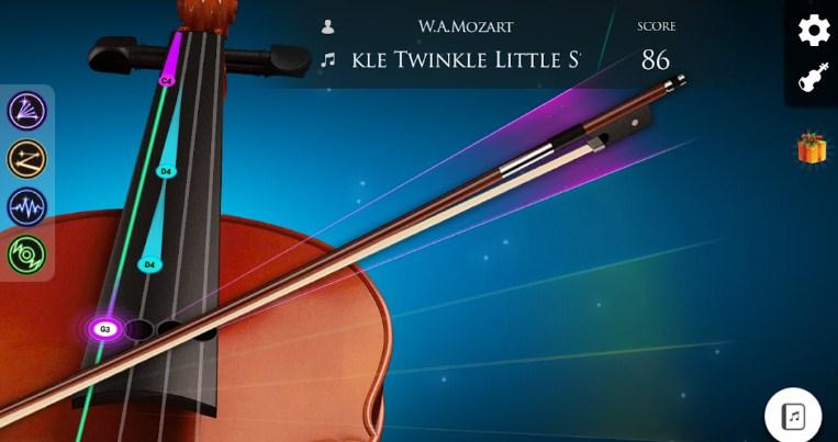 belajar violin virtual
