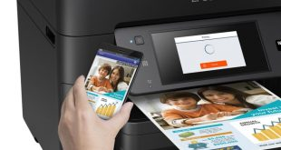 cara setting wifi direct printer