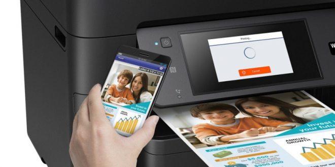 cara setting wifi direct printer