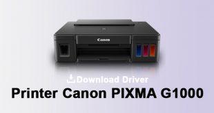 driver printer canon g1000