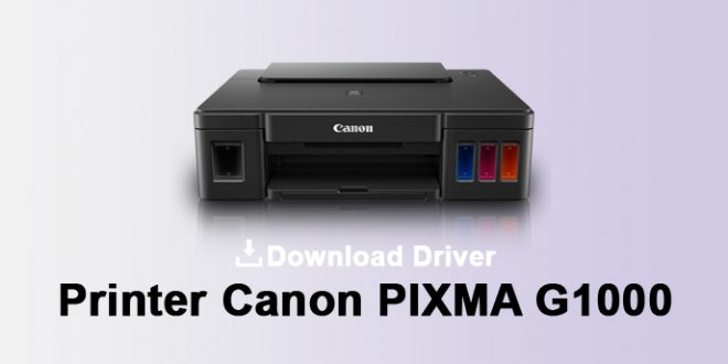 driver printer canon g1000