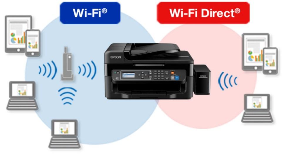 wifi direct epson printer