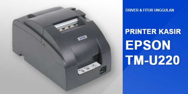 driver epson TM U220 windows