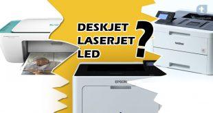 perbedaan deskjet inkjet laserjet