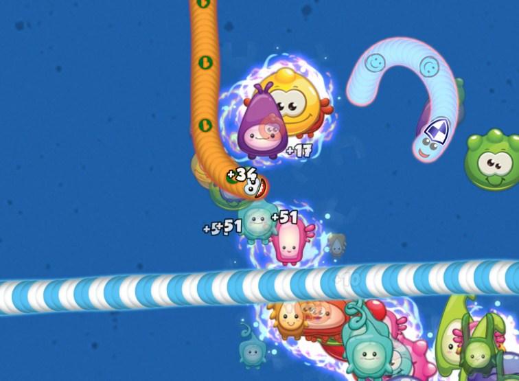 tampilan worms zone versi 2