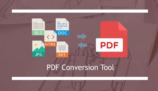 PDF Conversion Tool windows 10