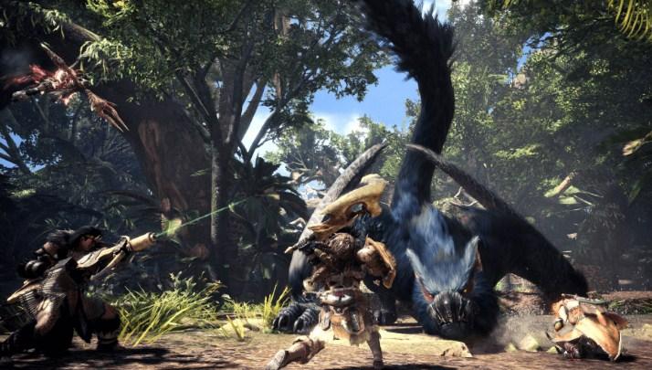 gameplay review monster hunter world