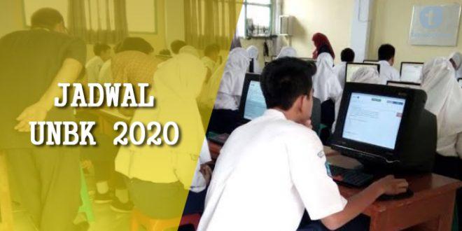 jadwal ujian nasion 2020