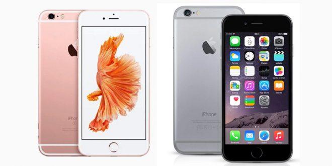 perbedaan iphone 6 dan 6s