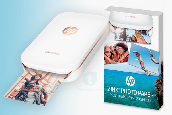 spesifikasi Printer HP Sprocket Photo