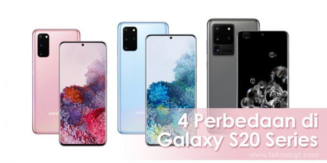 4 perbedaan samsung galaxy s20