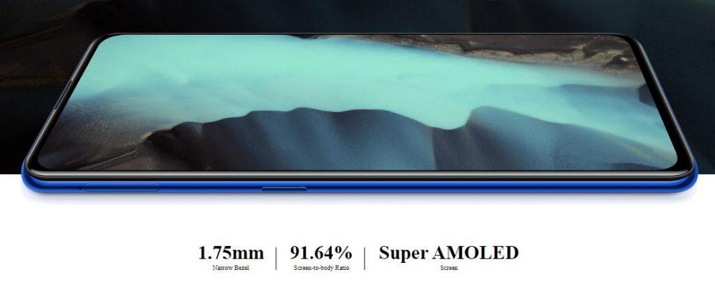 Layar Super Amoled V15 Pro