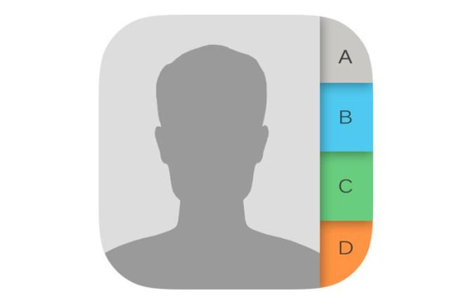 aplikasi kontak iphone