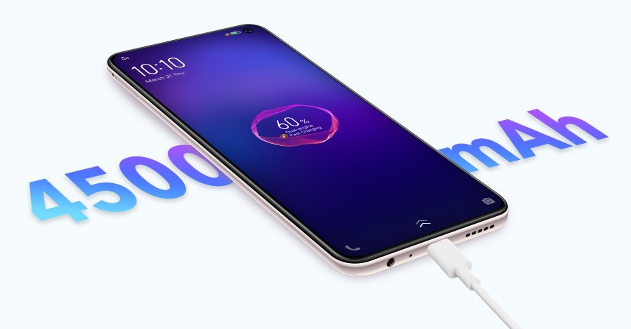 baterai fast charging vivo v19