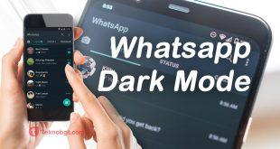 cara mengaktifkan whatsapp dark mode