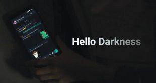 cara mengaktifkan facebook dark mode