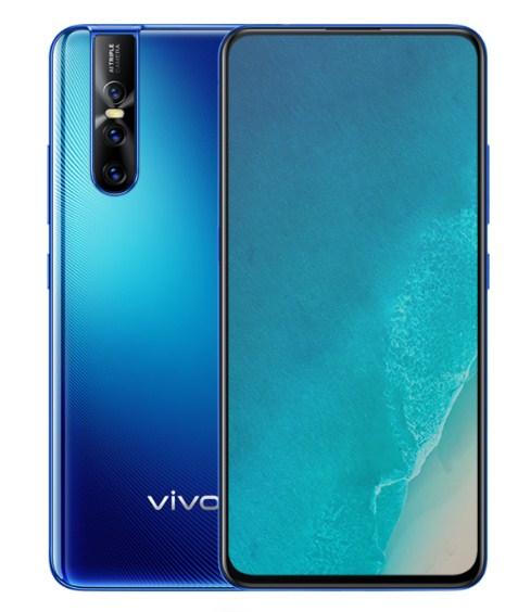 parameter vivo V15 Pro Coral Blue