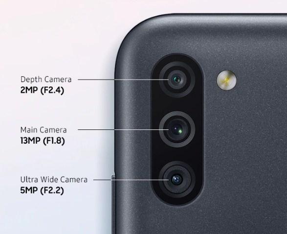 sensor kamera samsung galaxy m11