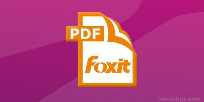 foxit pdf reader gratis download