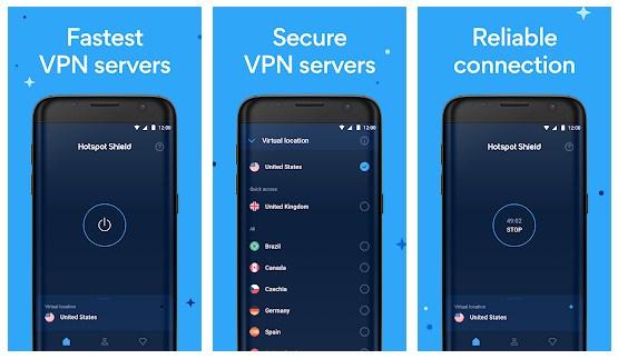 hotspot shield vpn gratis android