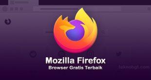 mozilla firefox browser gratis terbaik