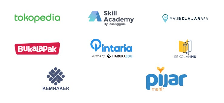 platform pelatihan online prakerja