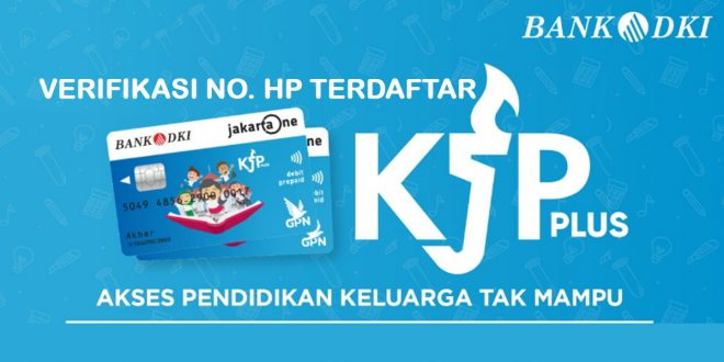 verifikasi no hp kjp plus