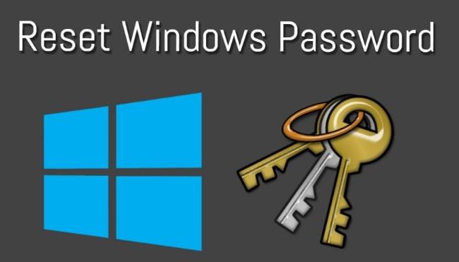 cara reset lupa password windows 10
