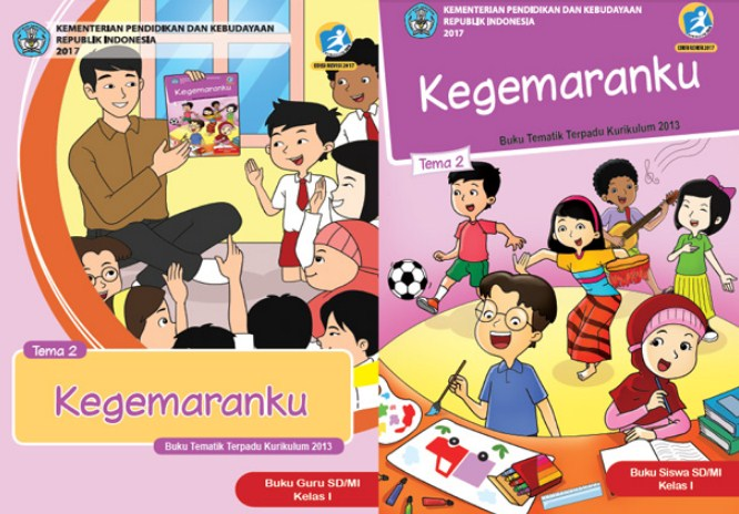 Buku Tematik Terpadu SD Kelas 1 Kurikulim 2013