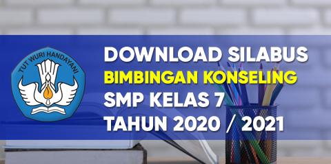 Silabus Bimbingan Konseling K13 Smp Kelas 7 Tahun 2020 2021 Tekno Banget