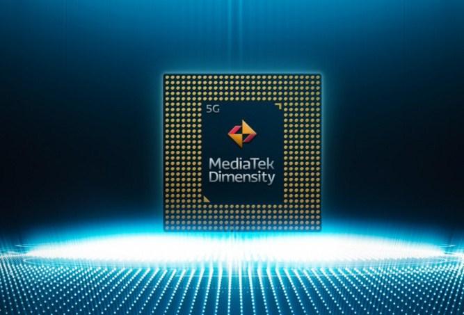 Prosesor chipset mediatek dimensiti 600 5G