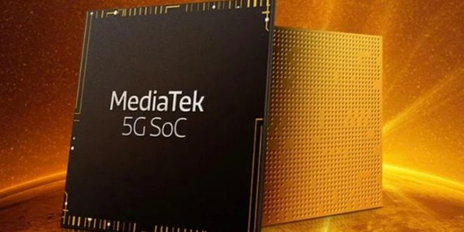 chipset mediatek dimensiti 600 5G