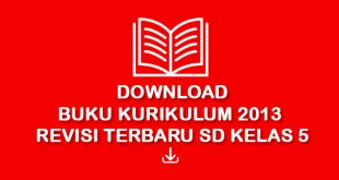 download buku kurikulum 2013 revisi 2017 SD Kelas 5