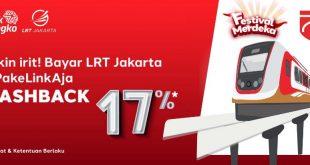 LinkAja LRT Jakarta Diskon