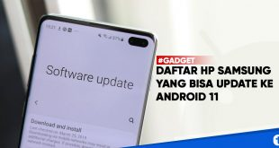 daftar hp samsung update android 11