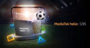 MediaTek Helio G95 chipset smartphone gaming