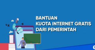 bantuan kuota internet gratis dari pemerintah