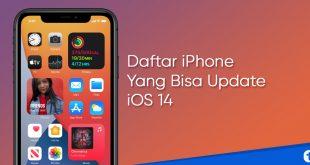 iphone yang bisa update ios 14