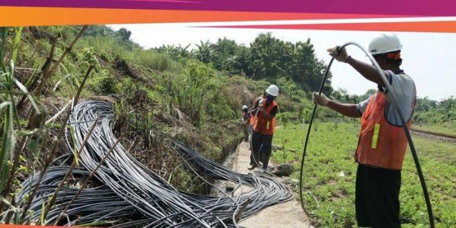 jaringan fiber xl axiata terus dikerjakan