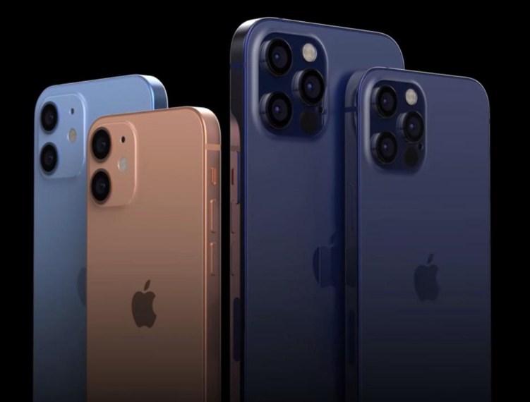 konsep desain iphone 12 dan iphone 12 pro