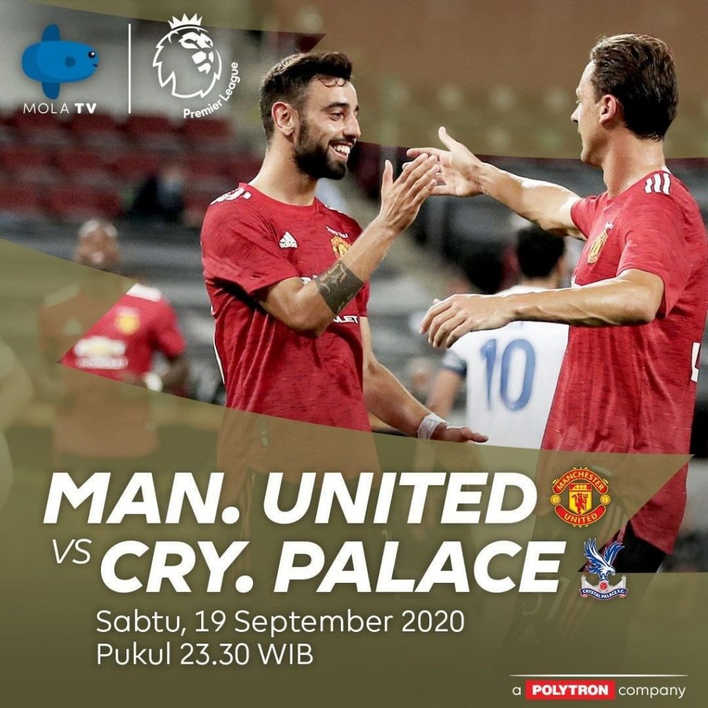 live streaming mu vs crystal palace
